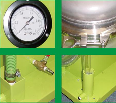 スラッジ回収装置の特徴